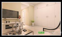 东方龙城104平三室两厅欧式风格装修效果图欧式客厅装修图片