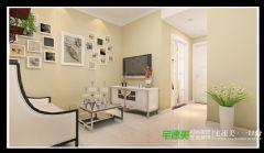 东方龙城104平三室两厅欧式风格装修效果图欧式风格三居室