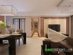 信达荷塘月色三室两厅115平欧式风格装修效果图欧式风格三居室