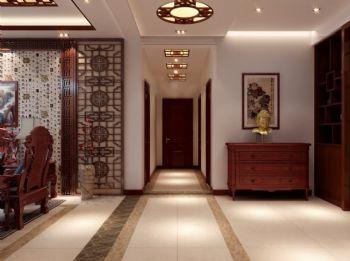 走廊背景墙温馨设计