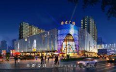 城市综合体效果图频道:如何进行整体性的城市综合体效果图照明设计商场装修图片