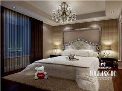 复地御香山法式风格案例欣赏美式卧室装修图片