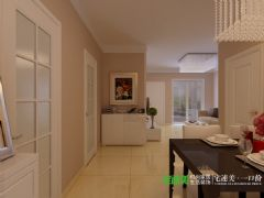 信德半岛三室两厅93平现代风格装修效果图现代客厅装修图片