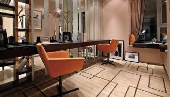 170平三居现代风格案例欣赏现代餐厅装修图片