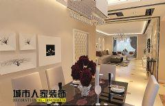 温馨雅致简欧风欧式客厅装修图片