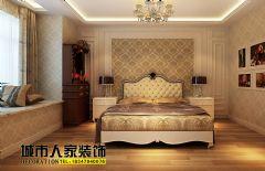 温馨雅致简欧风欧式卧室装修图片