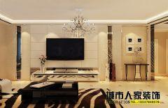 温馨雅致简欧风欧式风格三居室