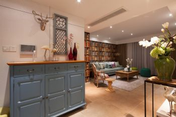 独具特色的玄关设计案例现代玄关装修图片