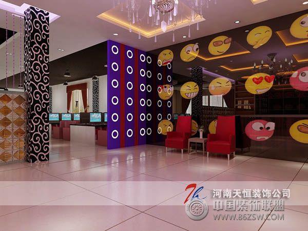 个性网吧装修设计-酒店装修图片