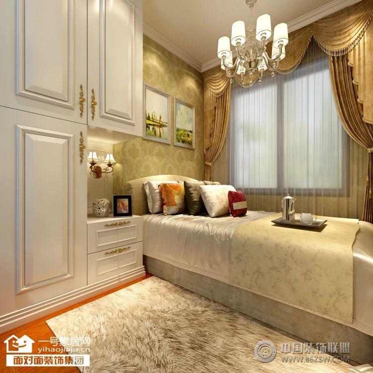 幸福时代简欧装修效果图整套大图展示_欧式三居室装修