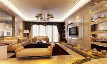 186平四居现代风家居现代客厅装修图片
