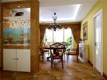 151平三居混搭风格案例欣赏混搭餐厅装修图片