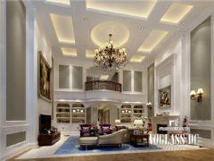 成都尚层装饰别墅装修复地御香山现代混搭风格案例欣赏混搭客厅装修图片