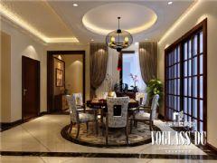 成都尚层装饰别墅装修保利蝴蝶谷中式风格案例欧式风格别墅