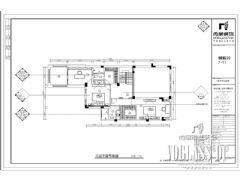 成都尚层装饰别墅装修保利蝴蝶谷中式风格案例欧式玄关装修图片