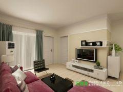 伟星金域华府两室两厅90平现代风格装修效果图现代风格小户型