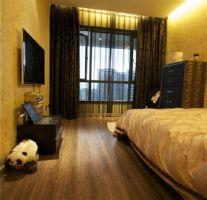 城南一号经典现代风格案例现代卧室装修图片