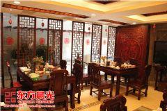中式飯店裝修設計高端優雅