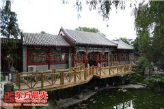 中式仿古建筑设计古建装修-东方晨光会所装修图片