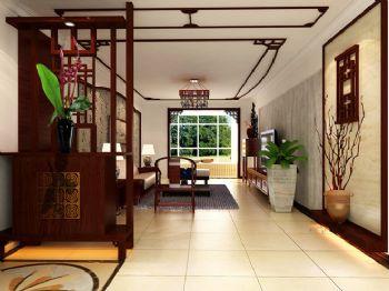 140平三居中式风现代客厅装修图片