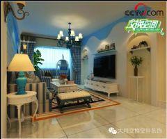 地中海风格地中海客厅装修图片