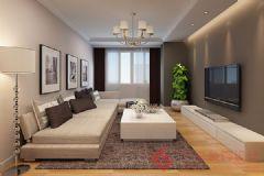 融科林语-简约风格现代风格三居室