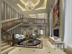 乐山金水湾装修设计效果图欣赏美式客厅装修图片
