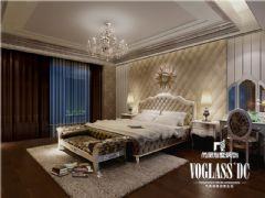 乐山金水湾装修设计效果图欣赏美式卧室装修图片