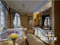 乐山金水湾装修设计效果图欣赏美式风格别墅