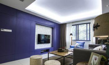 90平北欧风格装修案例欧式客厅装修图片