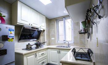 90平北欧风格装修案例欧式厨房装修图片