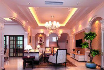 植物摆放客厅设计方案