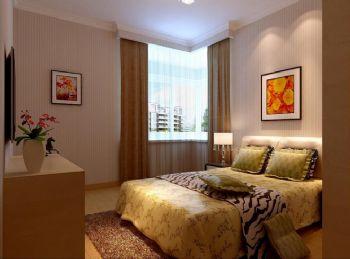 110平三居现代风格装修案例现代卧室装修图片