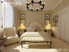 亚欧度假村欧式卧室装修图片