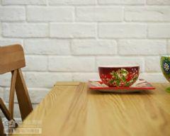 新城春天里103平地中海实景图地中海餐厅装修图片