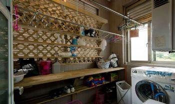 阳台变身书房洗衣间设计案例