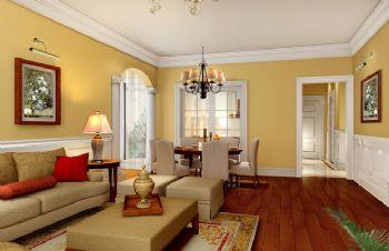 46平小户型欧式古典风欧式客厅装修图片