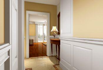 46平小户型欧式古典风欧式过道装修图片