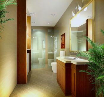 46平小户型欧式古典风欧式卫生间装修图片