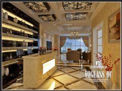 领域欧式风格案例欣赏欧式餐厅装修图片