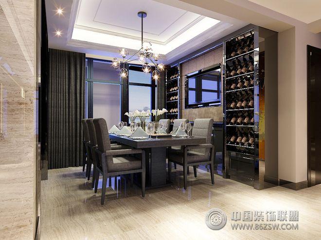 220平现代风格装修案例-餐厅装修效果图-八六(中国)(.