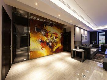 220平现代风格装修案例现代客厅装修图片