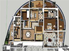 龙湖世纪峰景简欧风格效果图欣赏欧式儿童房装修图片