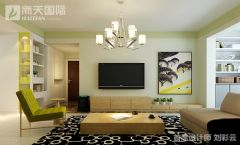 大成逐鹿会美式客厅装修图片