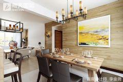 大成逐鹿会  回归本色现代简约客厅装修图片