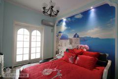 武汉115平三室两厅装修要多少钱混搭卧室装修图片