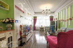 武汉115平三室两厅装修要多少钱混搭客厅装修图片