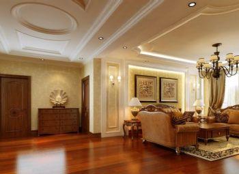 120平美式风格装修案例美式客厅装修图片