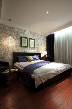 98平中式演绎温馨淡泊的闲暇时光中式卧室装修图片