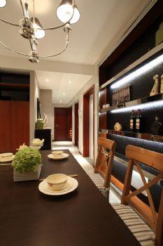 98平中式演绎温馨淡泊的闲暇时光中式餐厅装修图片